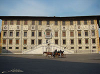 palace of the knights nd the seat of the scuola normale superiore in Pisa