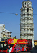 Hop on hop off tour in Pisa